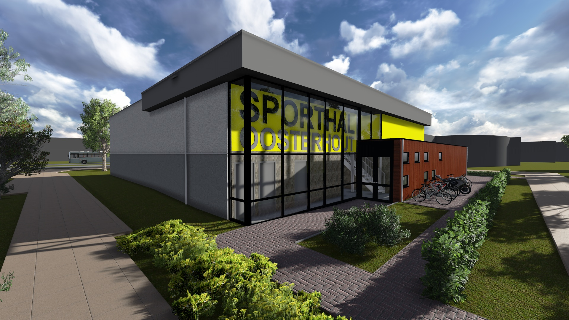 Design and build contract gymzaal Oosterhout